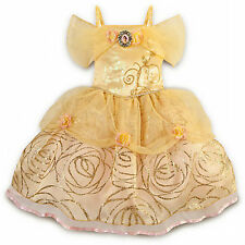 Belle Disney Store Costume Princess Size 10 NO TAG Dress Costume FAB NEW