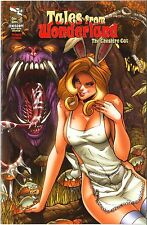 Grimm Fairy TALES FROM WONDERLAND The Cheshire Cat NM Ltd HEAVY METAL w/COA SEXY