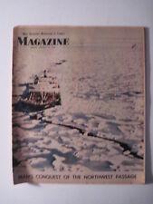 Louisville Courier Journal Magazine, 1970. Canadian Artic Passage to Alaska! oil