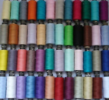50 BEST SEWING 100% PURE COTTON ALL PURPOSE THREAD , 50 colours, high quality