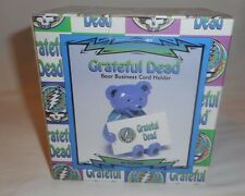 Grateful Dead Dancing Bear Business Card Holder Desk Mate Made by Vandor