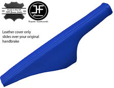 BLUE LEATHER FITS VW GOLF 4 Mk4 & BORA JETTA 1998-2003 HANDBRAKE COVER