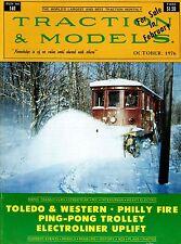 Traction & Models Magazine : Run No 140 : October 1976 : Toledo & Western