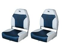 2 Wise Boat Seats, Grey/ Navy