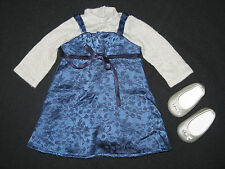 Genuine American Girl Doll Clothes Sapphire Party Outfit