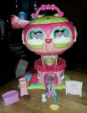 My little Pony Ponyville balloon house with pony and accessories