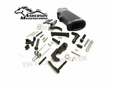 ANDERSON Mfg. Premium Lower Parts Kit (Black Stainless) FREE SHIPPING