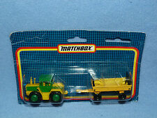 Matchbox Lesney TRAC 1500 TURBO 1990 NEW IN PACK