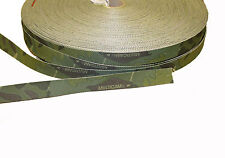 "Double Sided Crye Multicam TROPIC Camouflage Military Spec 25mm / 1"" Webbing"