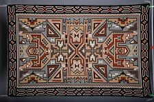 Very fine Navajo rug, blanket Native American textile, weaving by Helen Begay