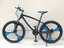 "2fast4u 26"" Aluminum 21 Speed Mag Magnesium Alloy Wheel Disc Brake Mountain Bike"