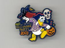 Disney Not Scary Halloween Donald Duck Headless Horseman Flaming Pumpkin LE Pin
