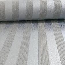 Motif Rayure Papier Peint Moderne À Paillettes En Relief Texturé Rouleau 273260