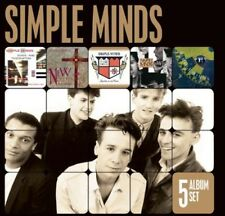 5 Album Set - Simple Minds (2012, CD NEUF)