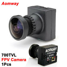 Aomway 700 TVL WDR HD 1/3 CMOS Camera 2.1 Wide Angle Mini FPV RC Quad Camera PAL