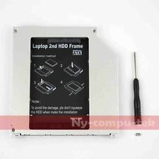 "NEW 2nd 9.5mm SATA HDD SSD Hard Drive Caddy Bay for MacBook Pro 13"" 15"" 17"" US"
