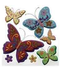 Jolee's Boutique Stickers - Colorful Butterflies  #1401