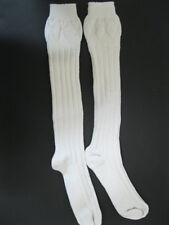 White Kilt Hose (Socks)  NEW WITH DEFECT