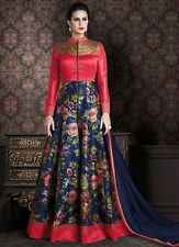 Indian Bollywood Ethnic Designer Anarkali Salwar Kameez Suit &Traditional BRIMA5