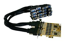 EXSYS EX-44016 - PCI-Express Mapa 16x Serial RS-232, con Octopus Cable