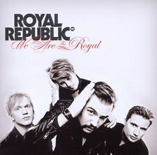 ROYAL REPUBLIC - WE ARE THE ROYAL CD ROCK 13 TRACKS NEU