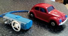 Vintage Tinplate  Rc Vw Beetle       Lovely Condition