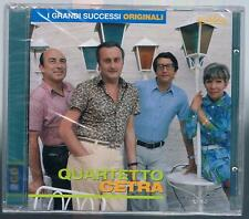 FLASHBACK QUARTETTO CETRA I GRANDI SUCCESSI ORIGINALI 2 CD F.C. SIGILLATO!!!