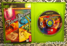 Trivial Pursuit Unhinged  Microsoft Xbox 2004 Video Game Complete