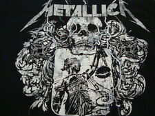 Metallica Classic Hard Rock Band Heavy Metal Skull Grunge Black T Shirt XL