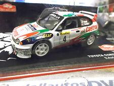 TOYOTA Corolla WRC Rallye Monte Carlo 1998 #4 Auriol Castrol IXO Altaya 1:43