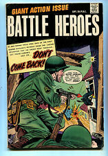 Battle Heroes #1 VG/FN 1966 Giant Action Issue  Don't Come Back  CBX1C