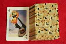 Popular Pumpkin Bud Doge Poker Playing Cards Anime Collectibles Gift 1 Set/54pc