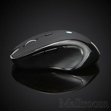 Wireless Mini Bluetooth V3.0 Maus 6D 1600DPI Optisch Gaming Mouse für PC Schwarz