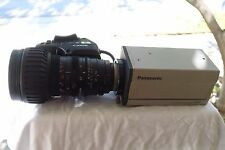 Panasonic AW-E600 Video Camera w/ Canon YH18x6.7 1x12 Zoom Lens - USED