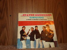 United Artists UA50-016 Jay & The Americans - Crying / I Don't Need A Friend