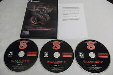 WIZARDRY VIII 8 PC CD-ROM RPG V.G.C. ( free next day 1st class post )