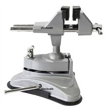 SUCTION TABLE VICE CLAMP GREAT FOR CRAFT HOBBYS ELECTRONICS 360 DEGREE SWIVEL