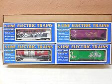O Scale K-Line K62462  4 PackTwelve Days of Christmas #2 Days 5-8