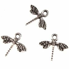 1000x New Arrival Antique Silver Dragonfly Charms Alloy Connector Makings Lots J