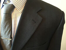 Corneliani WOOL Jacket Men's Size 44 Gray 3 Button Blazer Made in Italy!