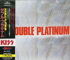 "KISS ""Double Platinum"" CD import japan w/obi 1997 Label Mercury ‎PHCR-4322 TOP !"