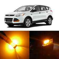 Alla Lighting Turn Signal Light 3157 Amber Yellow LED Bulb for 01~12 Ford Escape