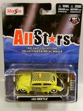 VW VOLKSWAGEN BEETLE BUG TAXI ALL STARS MAISTO DIECAST RARE