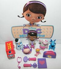 Disney Doc Mcstuffins Figure Set of 12 Susie Sunshine, Lenny and More!