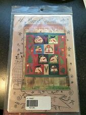 Uncut Quilting Pattern Meme's Quilts Primitive Applique Snowman Wall Quilt