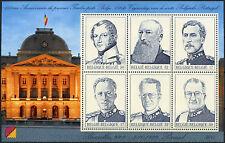 Belgium 1999 SG#MS3508 Kings Of Belgium MNH M/S #D2897