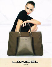 PUBLICITE ADVERTISING 074  1998  LANCEL  collection sacs de luxe