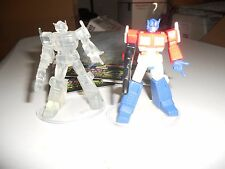 Takara Transformers SCF Lot Act 1 Optimus Prime regular and clear chase variant