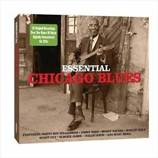 Essential Chicago Blues by Various Artists (CD, Apr-2010, 2 Discs, Not Now...