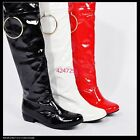 Women's Fashion Low Heel Light Knee High Boots Girls Lady Shoes AU All Sz Y799